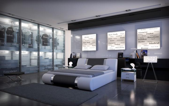 polsterbett face 200x220 weiss 200 x 220 cm wasserbetten rahmen offizielle hersteller. Black Bedroom Furniture Sets. Home Design Ideas