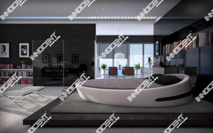 rundbett q3 rundbetten offizielle hersteller website. Black Bedroom Furniture Sets. Home Design Ideas